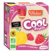 Cool Fruits - Pomme Framboise - Lot de 4 Gourdes