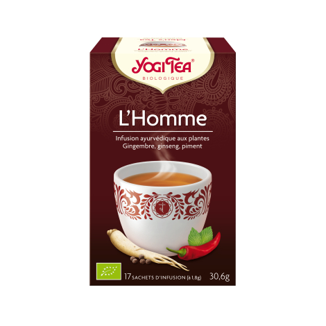 Infusion L'Homme 17 sachets