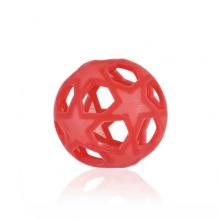 Star Ball en caoutchouc naturel Dès la naissance Rouge