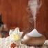 Diffuseur / brumisateur lumineux pour huiles essentielles Bois