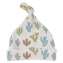 Bonnet blanc en coton BIO - Cactus