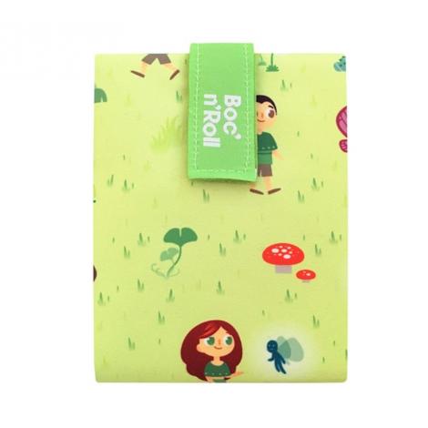 Porte sandwich lavable et réutilisable Boc'n'Roll - Kid Green