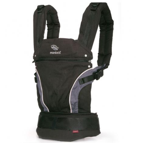 c941ce507ba5 Porte-bébé Baby carrier en coton BIO - black - SeBio