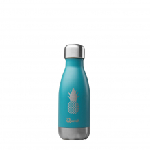 Bouteille inox nomade isotherme Summer Turquoise ananas