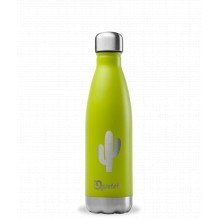 Bouteille inox nomade isotherme Summer Vert Cactus **