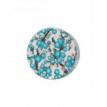 Bouchon washi pour théière en verre - écru bleu