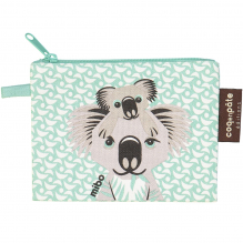 """Mini trousse - porte monnaie en coton BIO """"Koala"""""""