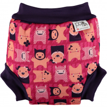 Maillot couche anti-UV - Monstre Rose Edie