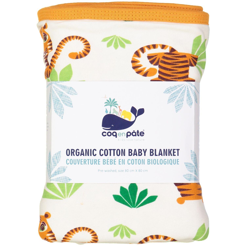 Couverture bébé en coton BIO