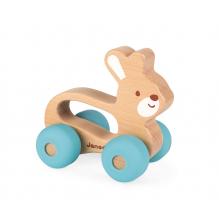 Lapin à pousser sur roulettes Baby Pop à partir de 12 mois