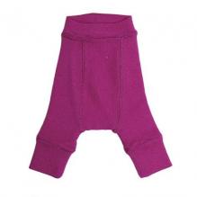 Pantalon évolutif en laine pour bébé - Lotus Violet