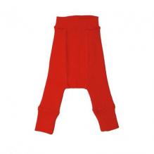 Pantalon évolutif en laine pour bébé - Rouge Coquelicot