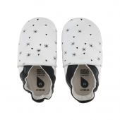 Chaussons 1000-022-02 - White Snow Flakes