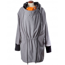 Veste de portage légère SoftShell - Heather grey c39afc66c99