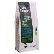Café Bio et Faire Trade moulu Mano Mano - 250 g