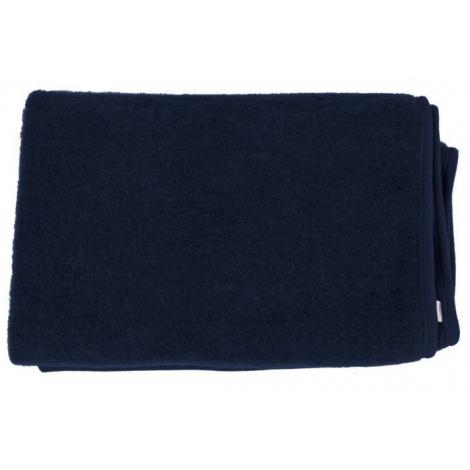 69649cd61d84 Couverture en laine - bleu nuit - SeBio