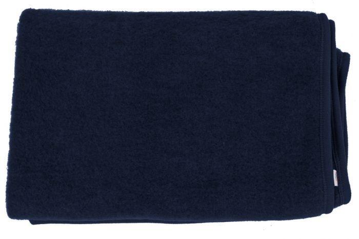Couverture en laine - bleu nuit - SeBio b1029b1959f