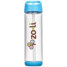 Bouteille d'eau avec paille Pip - 530 ml Bleu