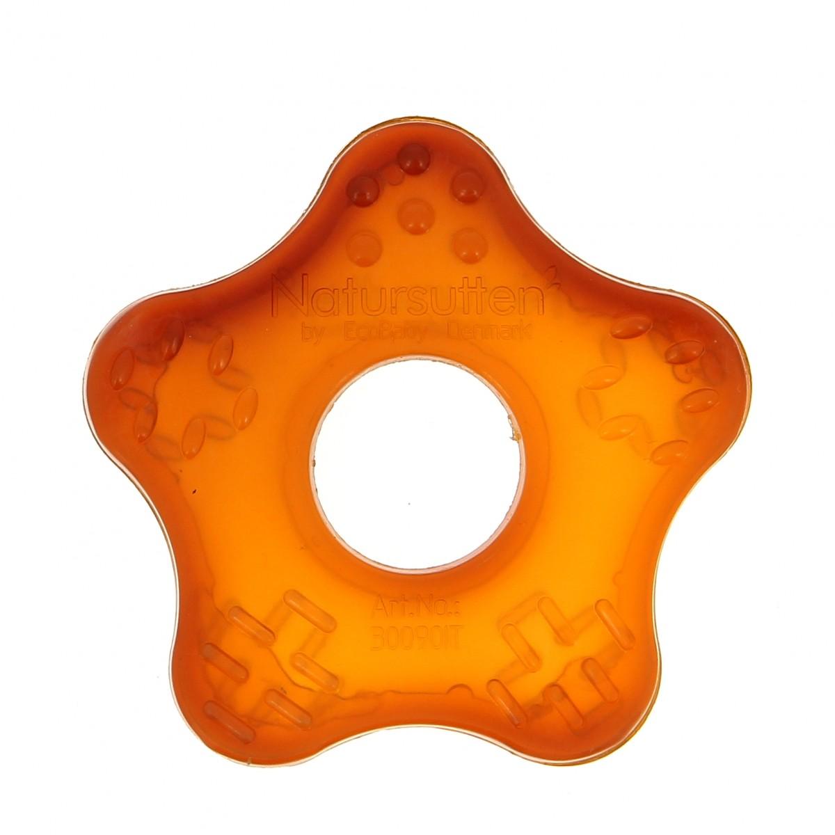 anneau de dentition en caoutchouc naturel starfish sebio. Black Bedroom Furniture Sets. Home Design Ideas