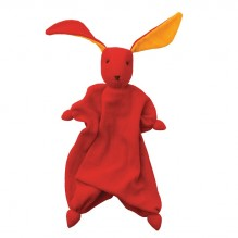 69a6b61b1461 Doudou Tino Peppa - Rouge Orange - dès la naissance